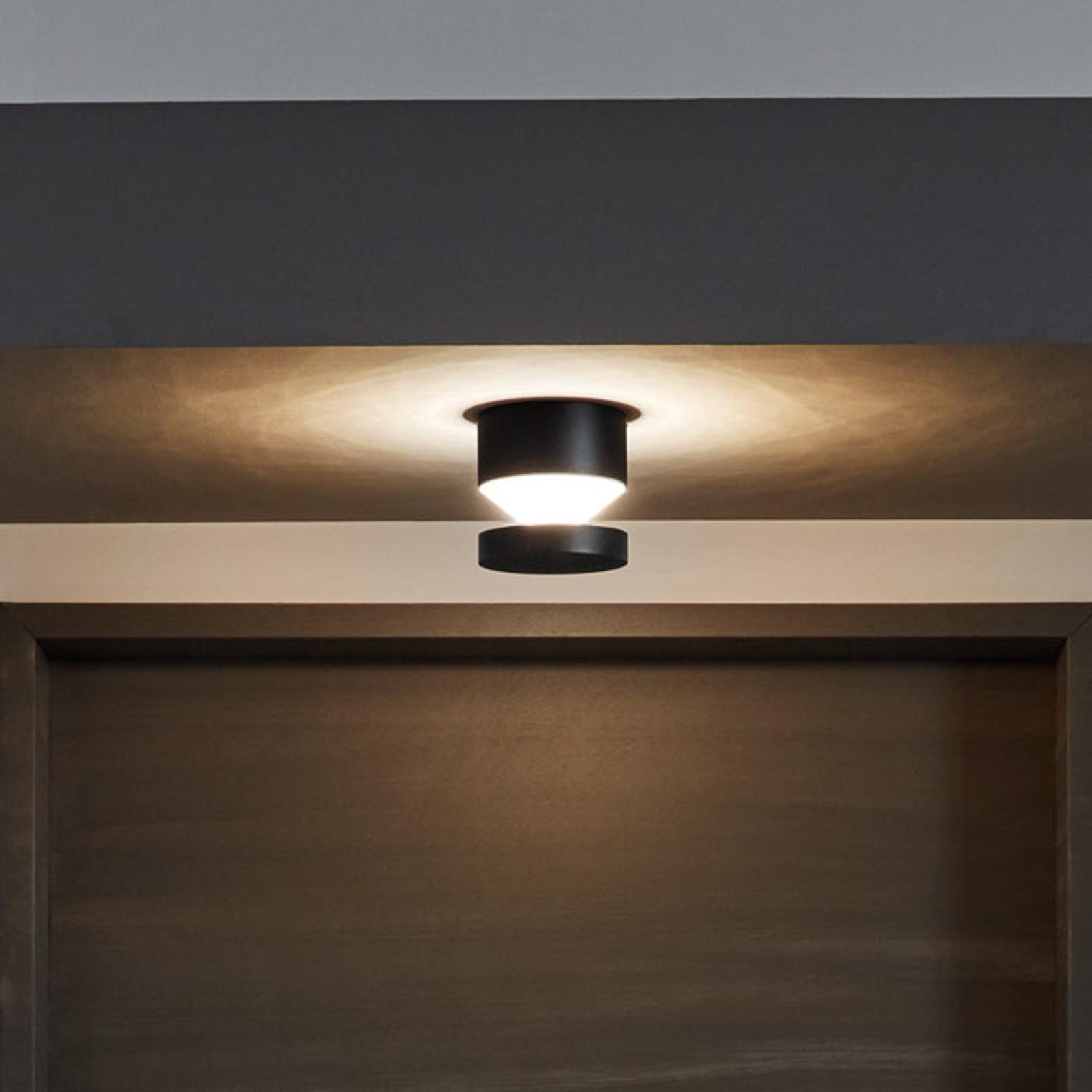 Praktisk utendørs LED-vegglampe Melzo