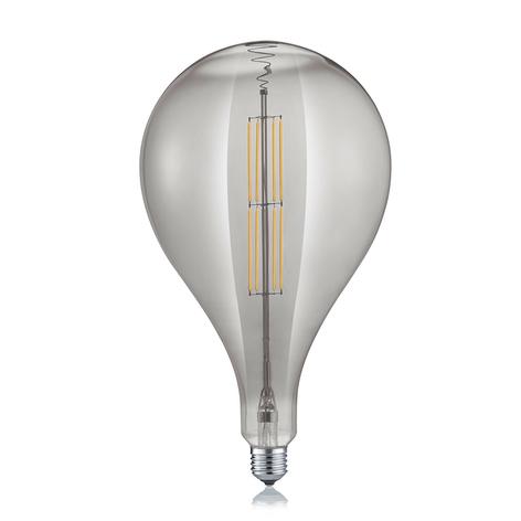 LED-globepære dråpe E27 8 W 2700K røykfarget