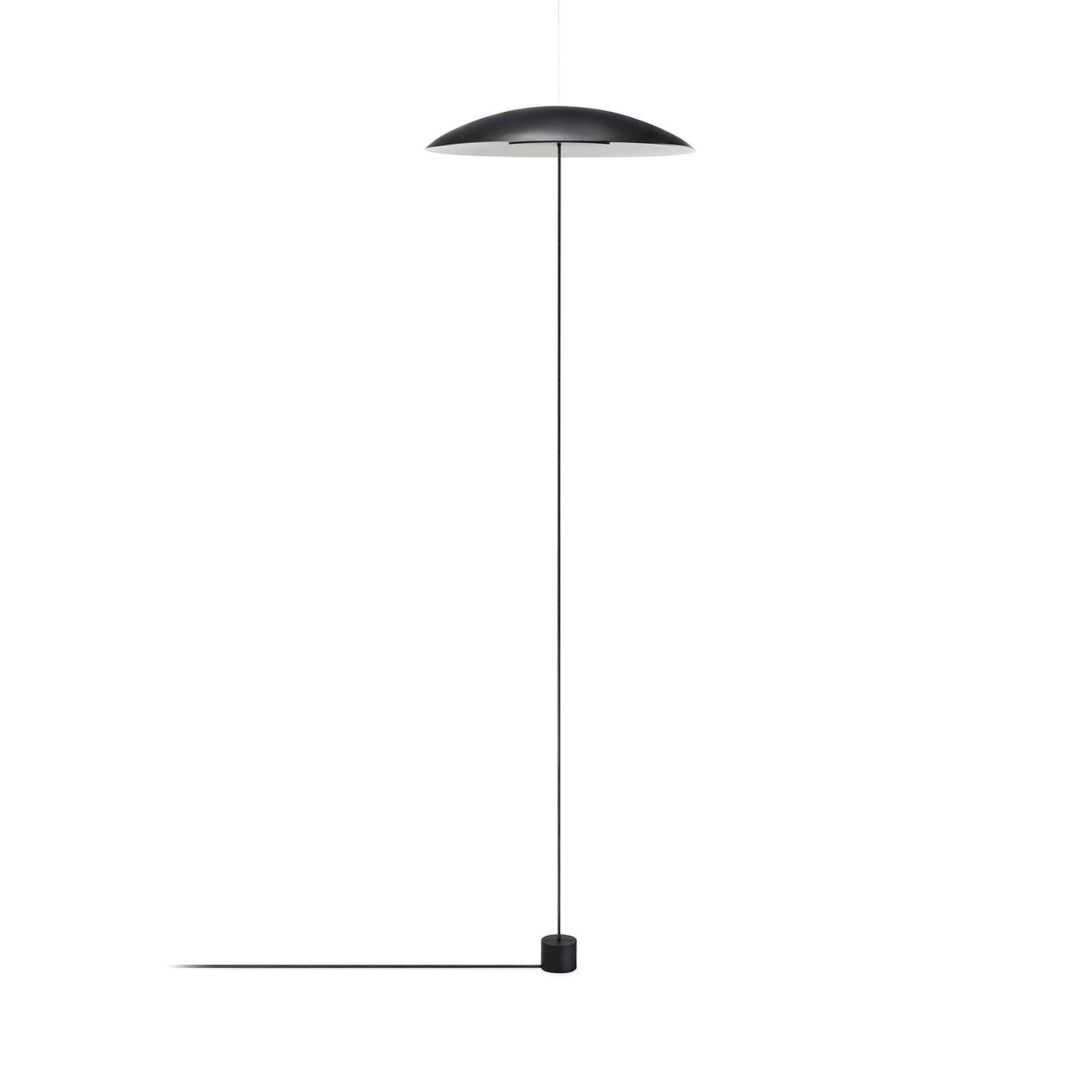LEDS-C4 Noway Single LED-gulvlampe, svart