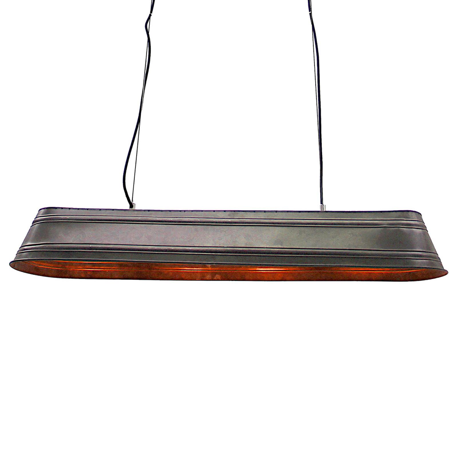 4-punktowa lampa wisząca Potions w kształcie belki