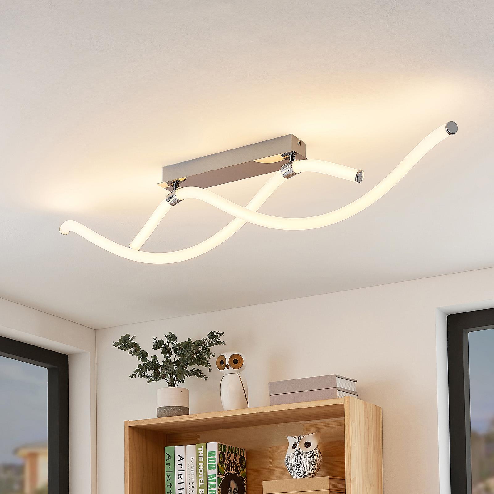 Lucande Wewa LED-loftlampe, dæmpbar i 3 trin