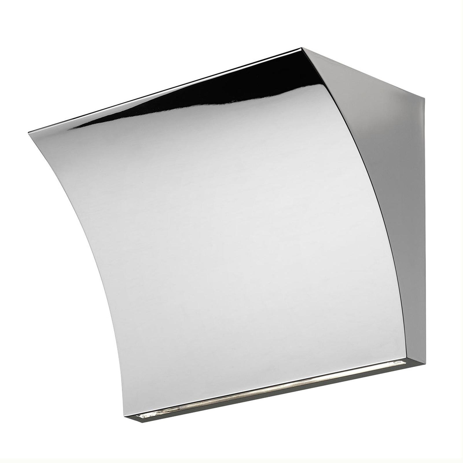 FLOS Pochette LED-Wandlampe chrom