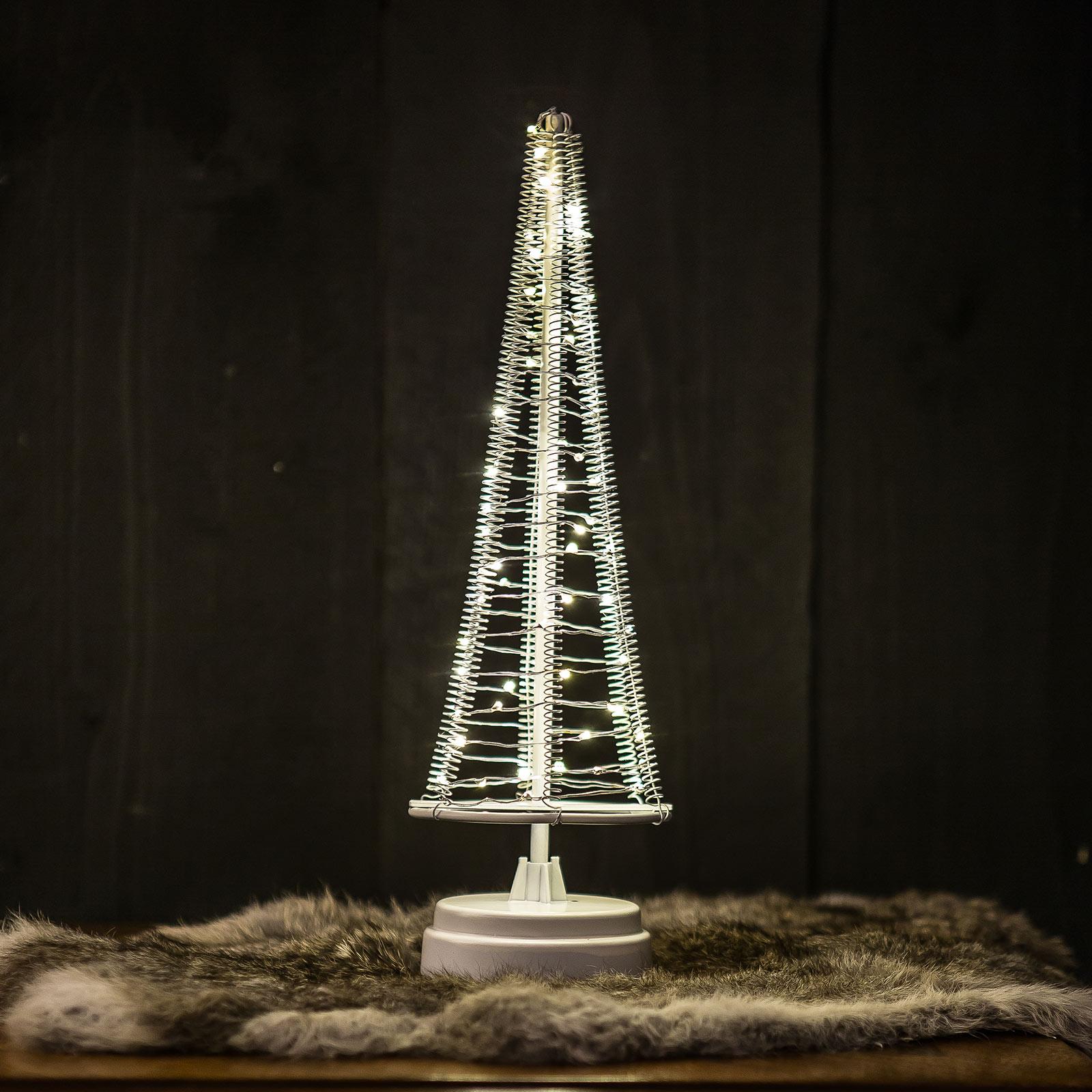Tre Santa's Tree, ledning sølv, høyde 33,5 cm