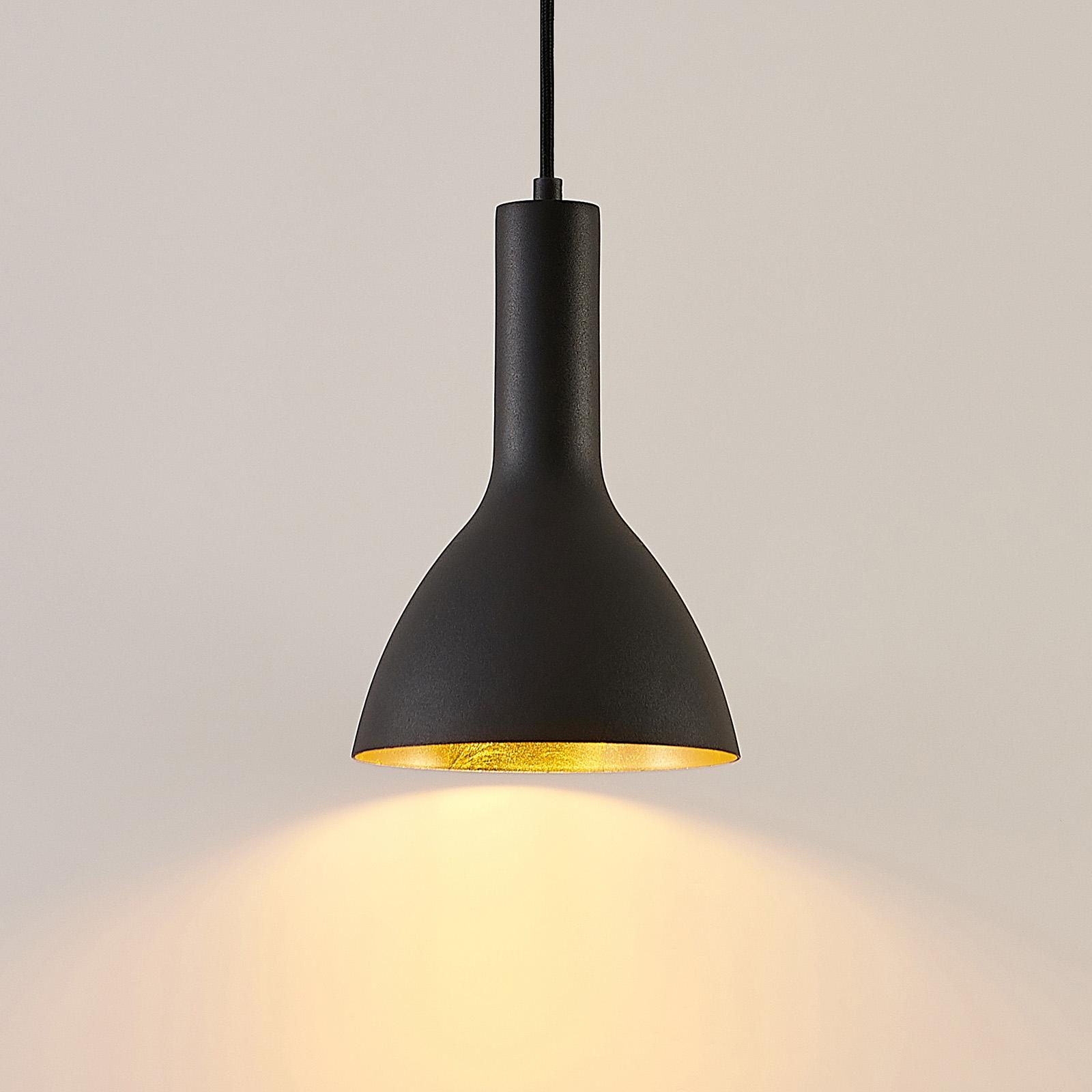 Arcchio Cosmina lampa wisząca, 1-punktowa czarna