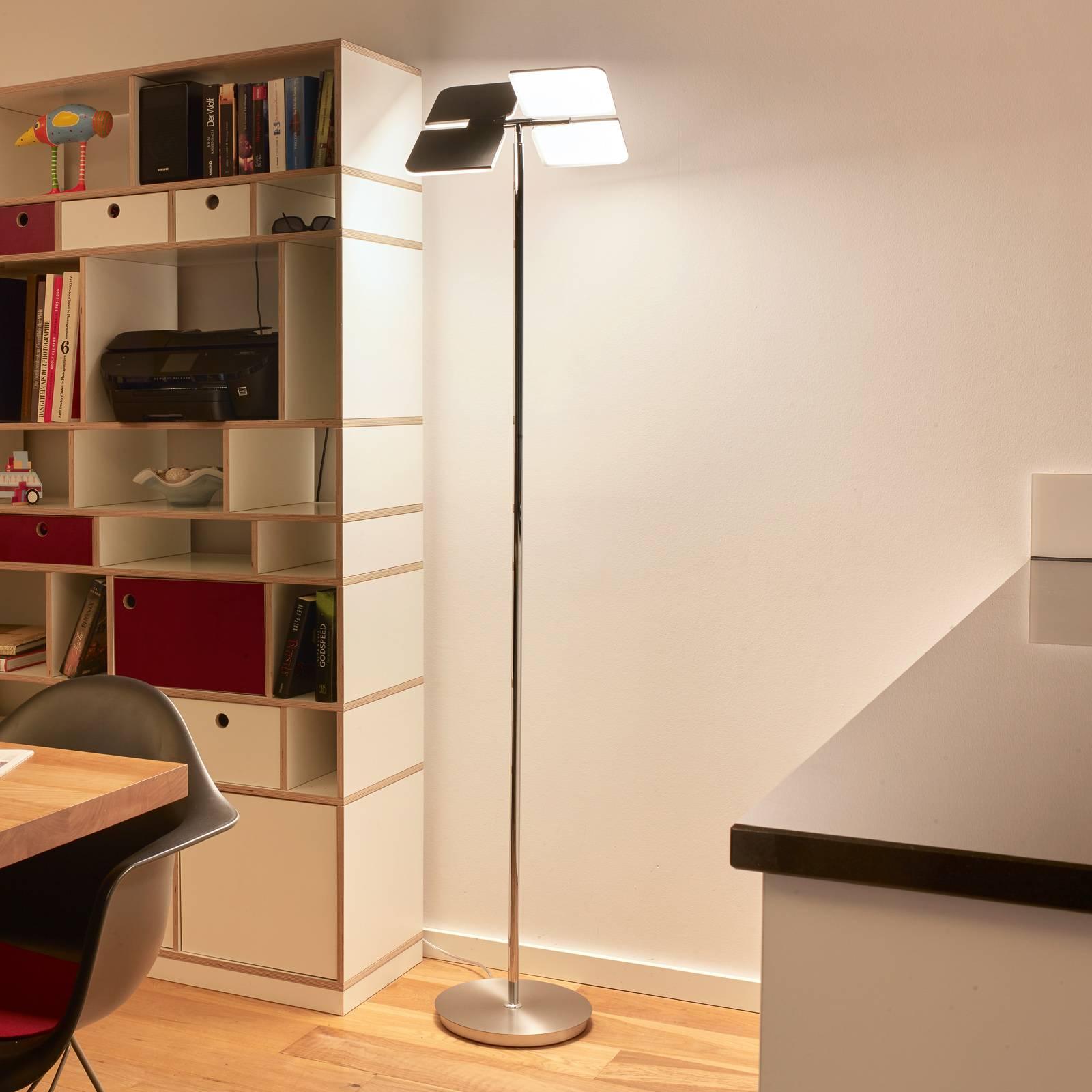 BANKAMP Quadrifoglio lampadaire LED, 2700-6500K