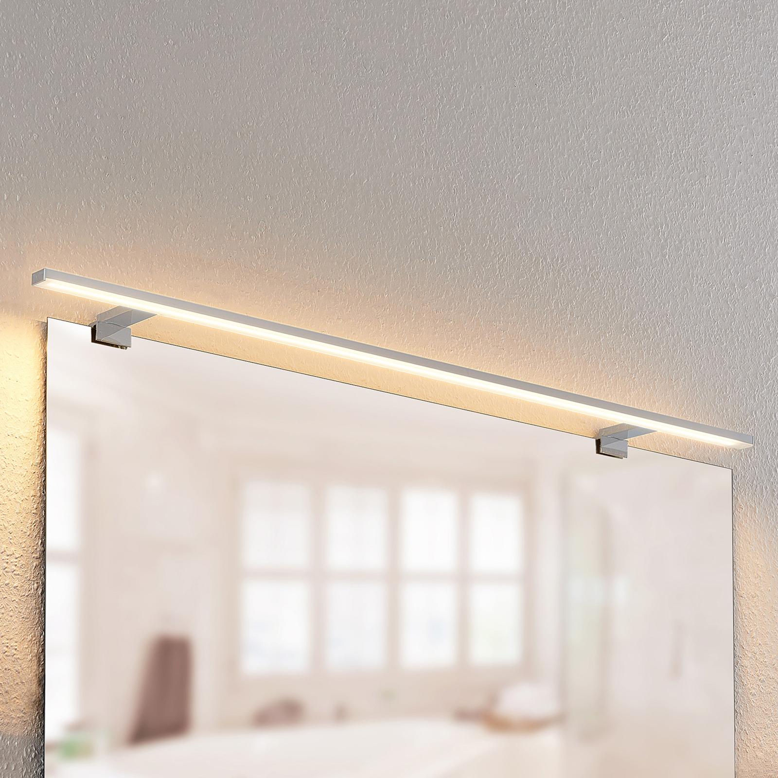 Lindby Lusano LED-Bad-Wandleuchte aus Aluminium