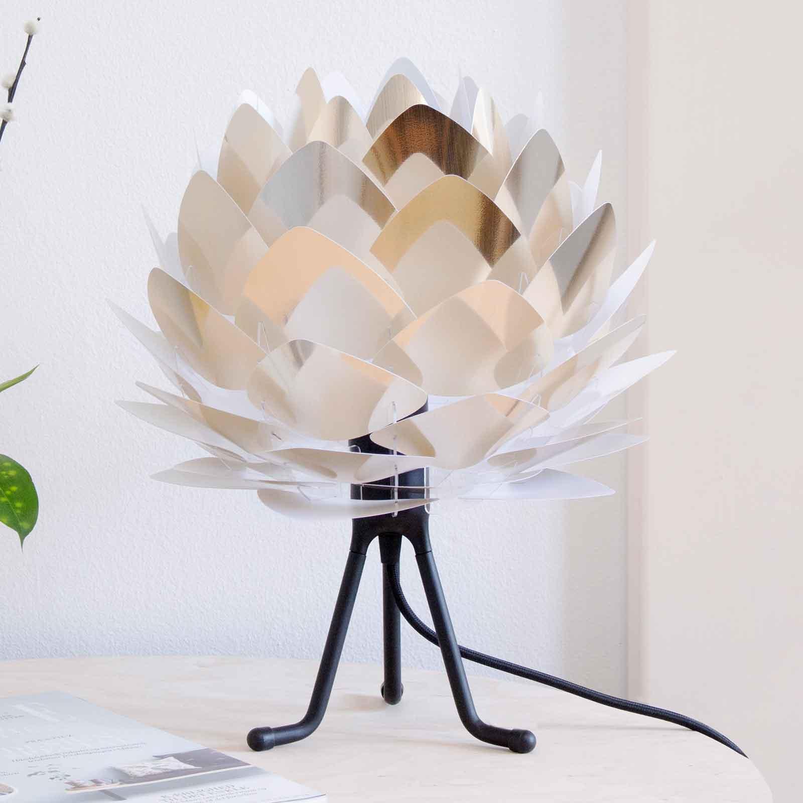 UMAGE Silvia Mini tafellamp staal/tripod zwart