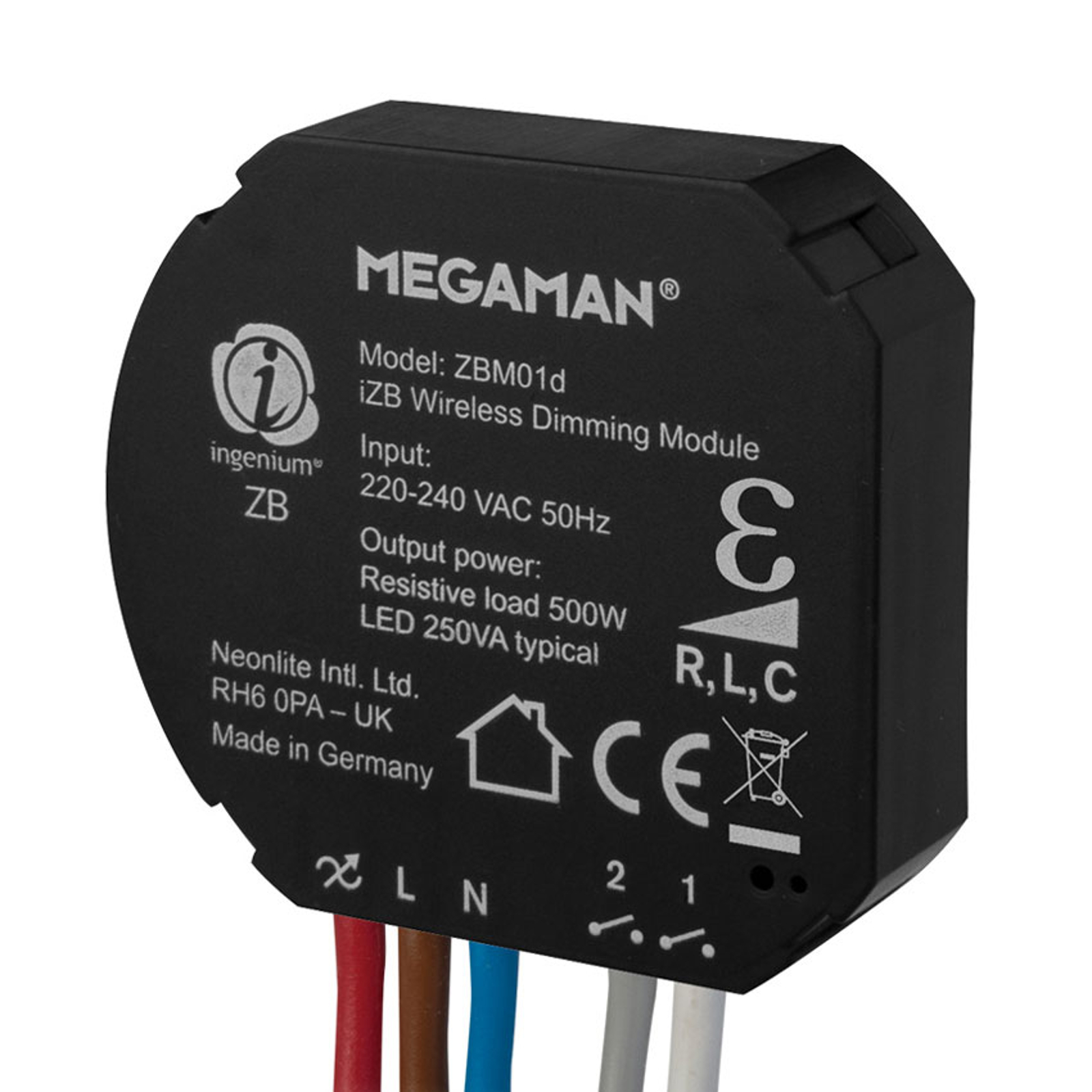 Megaman ingenium®ZB module variateur 250W, R L C