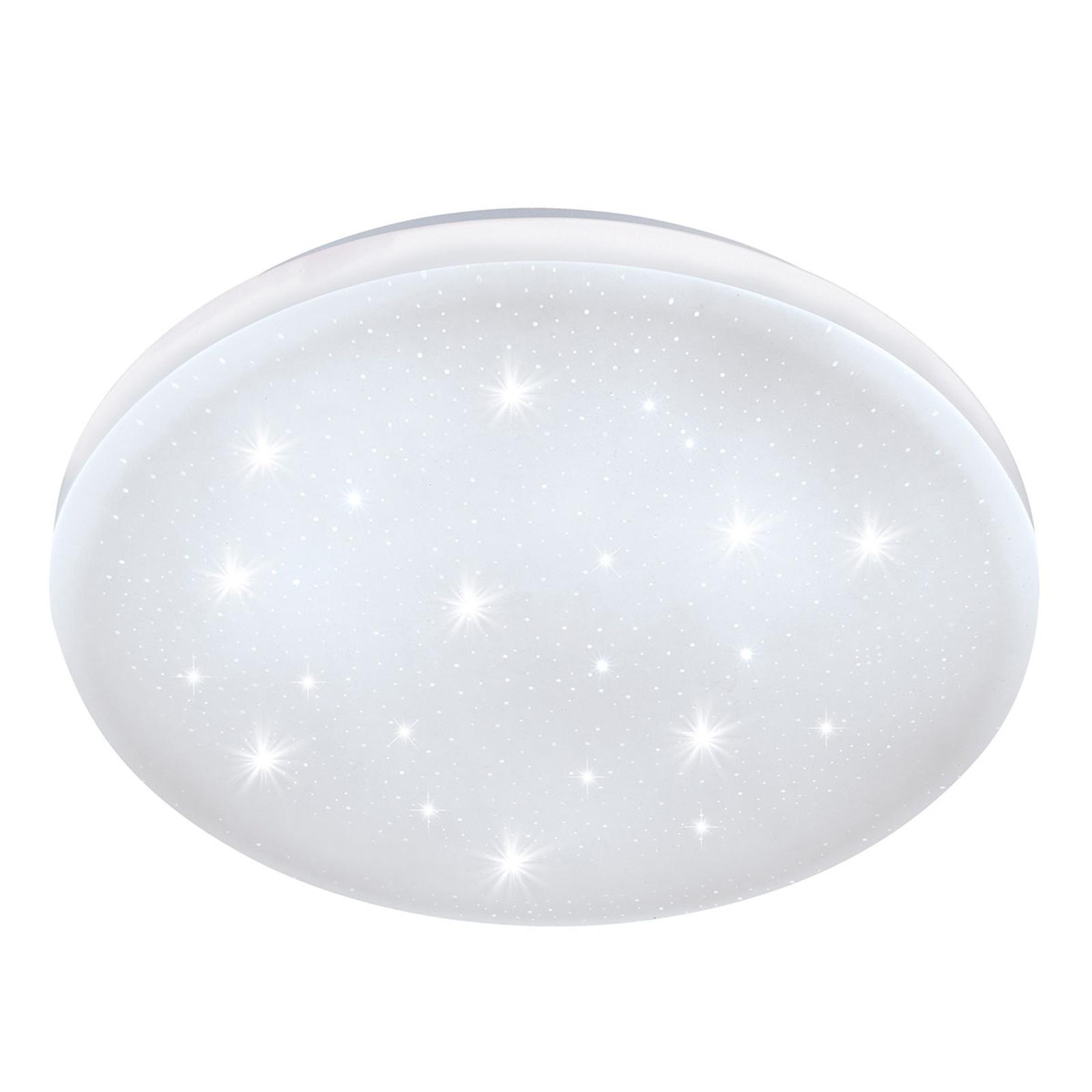 Lampa sufitowa LED Frania-S efekt kryształu Ø28 cm