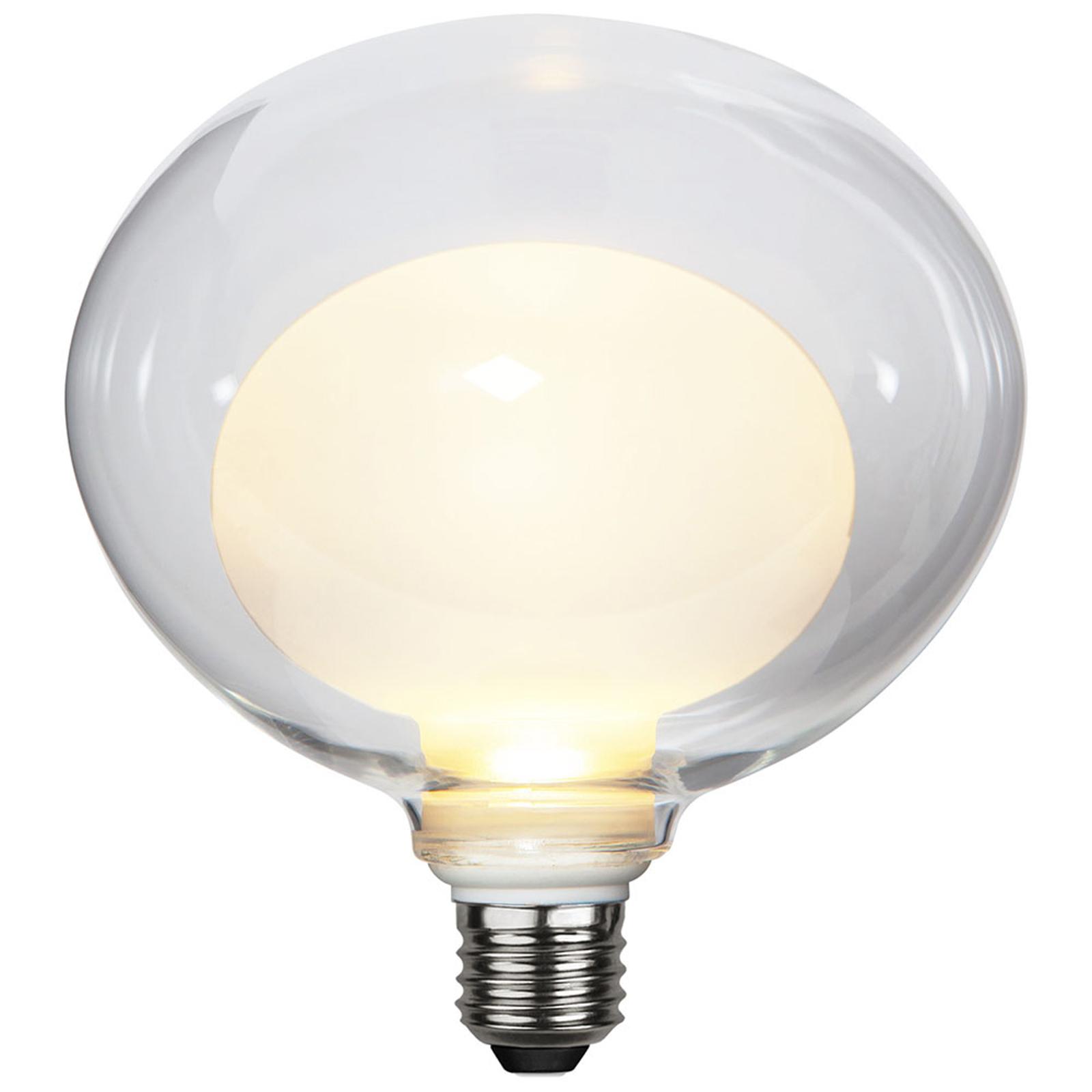 LED-pære Space E27 3,5W G150, opal, 3-trinns dim