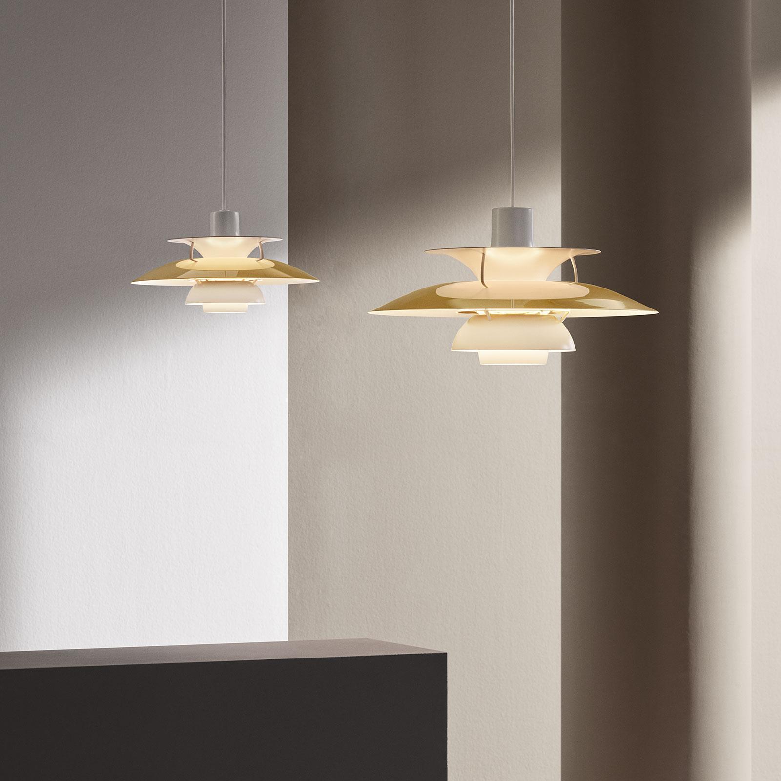 Louis Poulsen PH 5 messing hengelampe Ø 50 cm | Lampegiganten.no