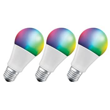 LEDVANCE SMART+ WiFi E27 9,5W Classic RGBW 3 kpl