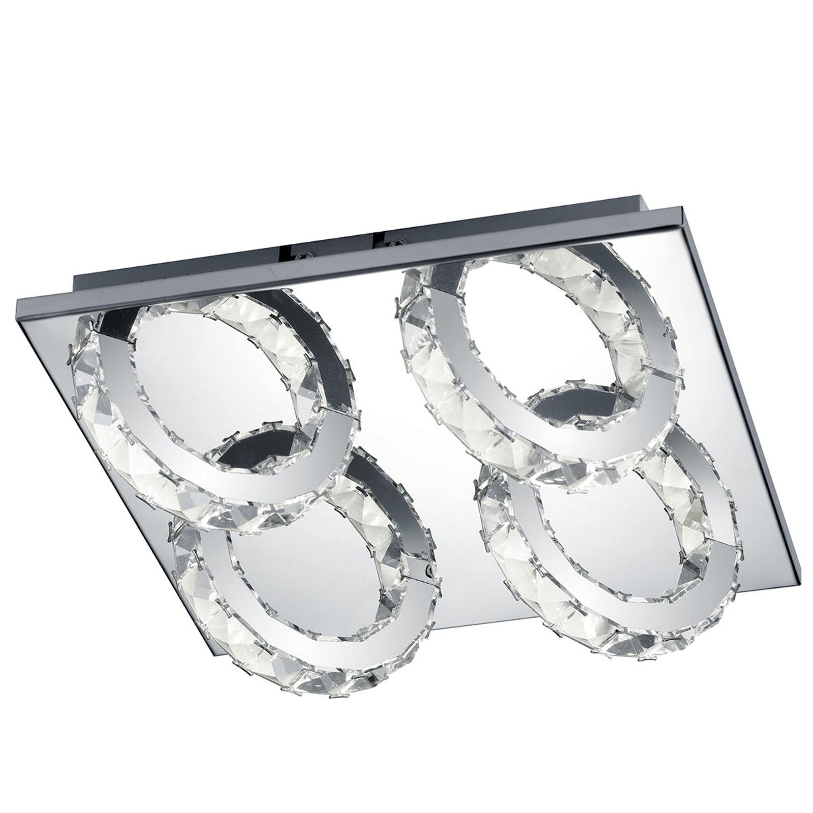 B-Leuchten Cascade plafonnier LED à 4 lampes