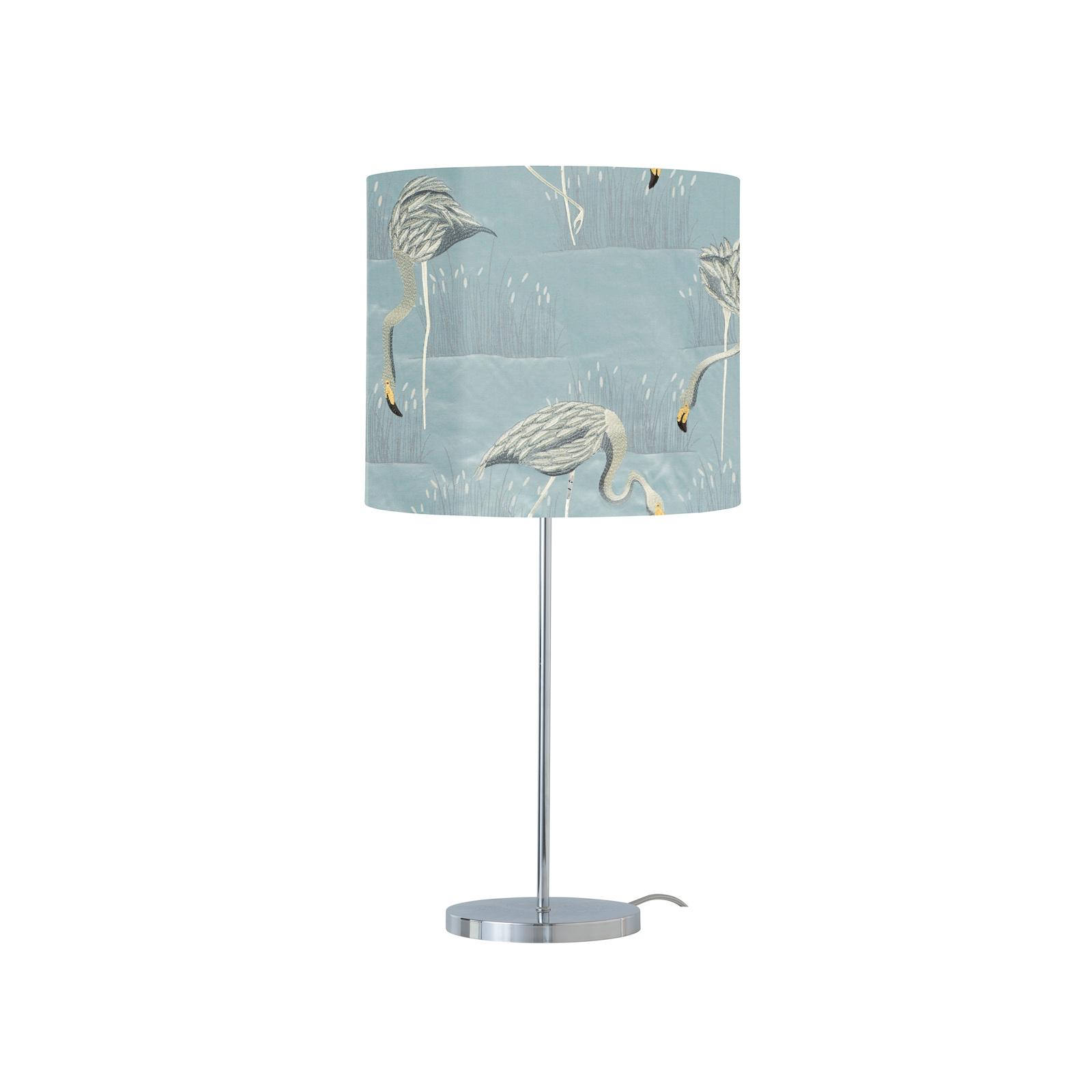 EBB & FLOW Salinas lampa stołowa glacier/srebrna