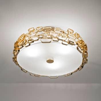 Terzani Glamour Deckenleuchte gold