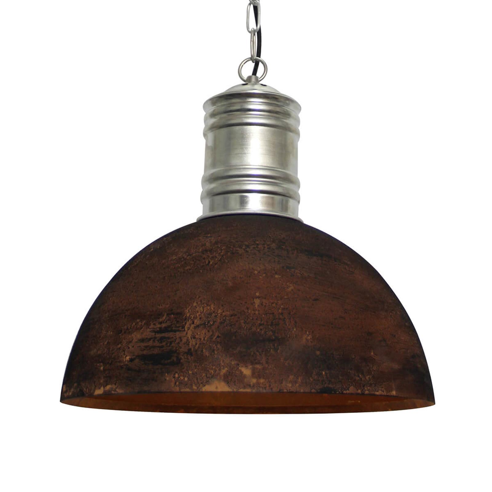 Roest-zwarte hanglamp Frieda