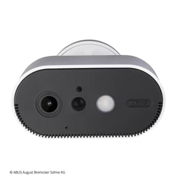 ABUS accu buitencamera set, 2x camera+basisstation
