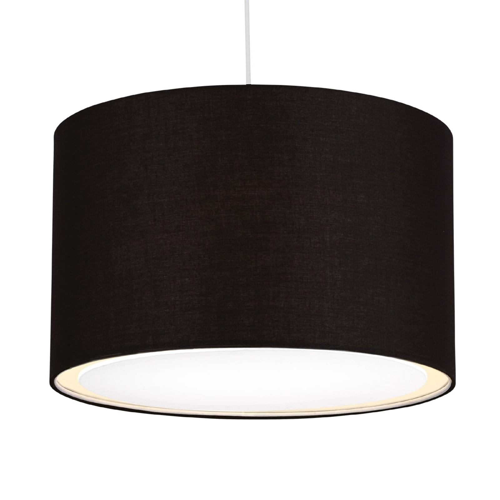 Klassiek-moderne hanglamp CLARIE, zwart