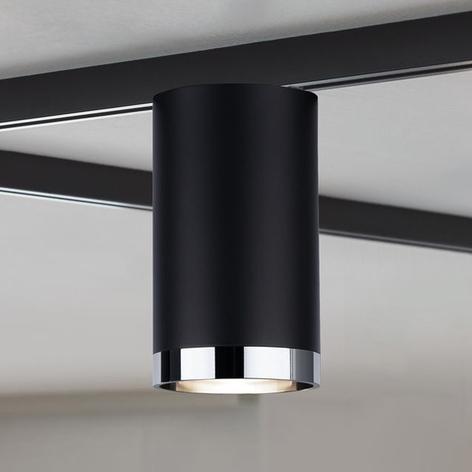 Paulmann URail Spot Tube schwarz matt