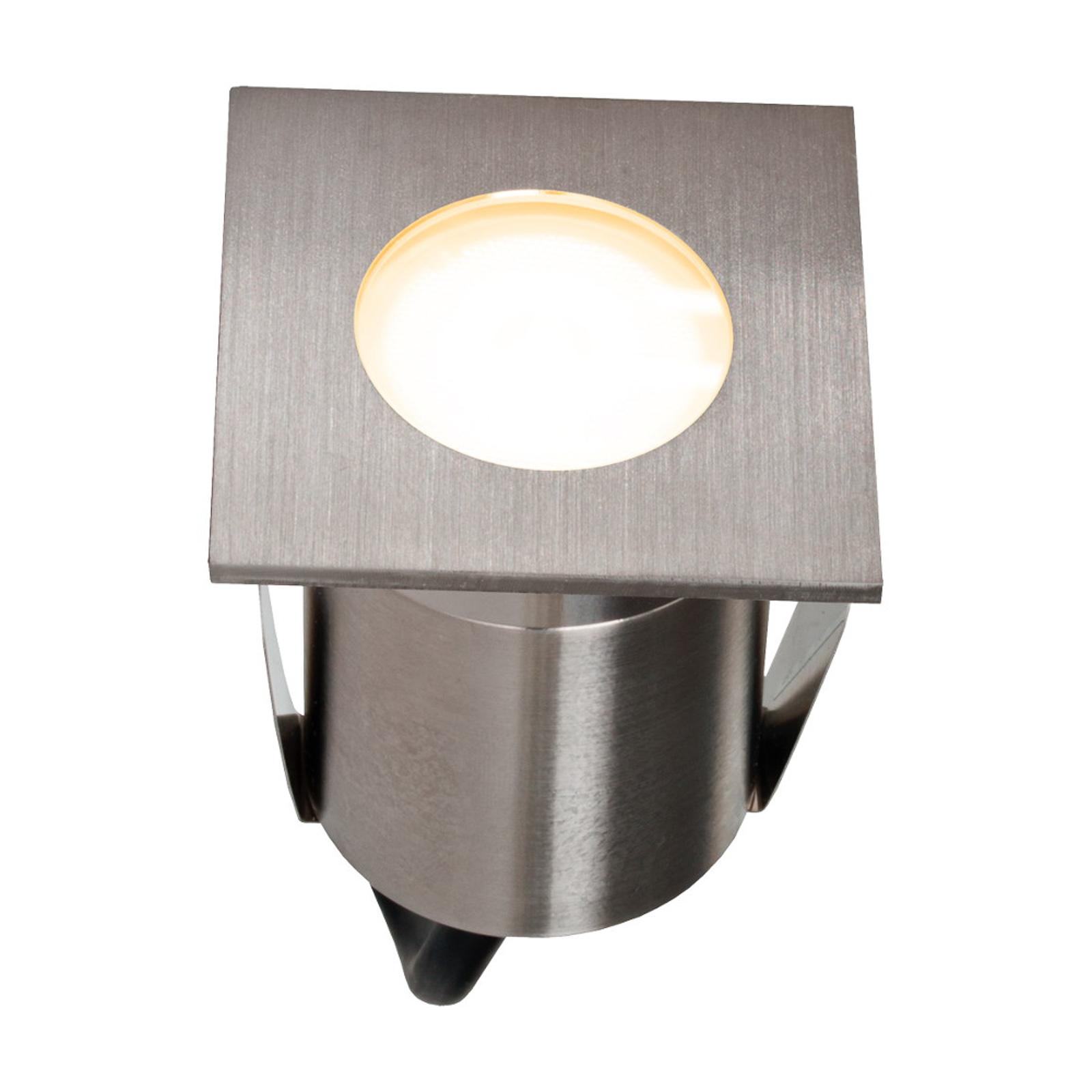 EVN P-LED -lattiaspotti ruostumatonta terästä