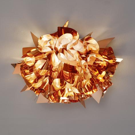 Slamp Veli – design-taklampe, Ø 53 cm, kobber