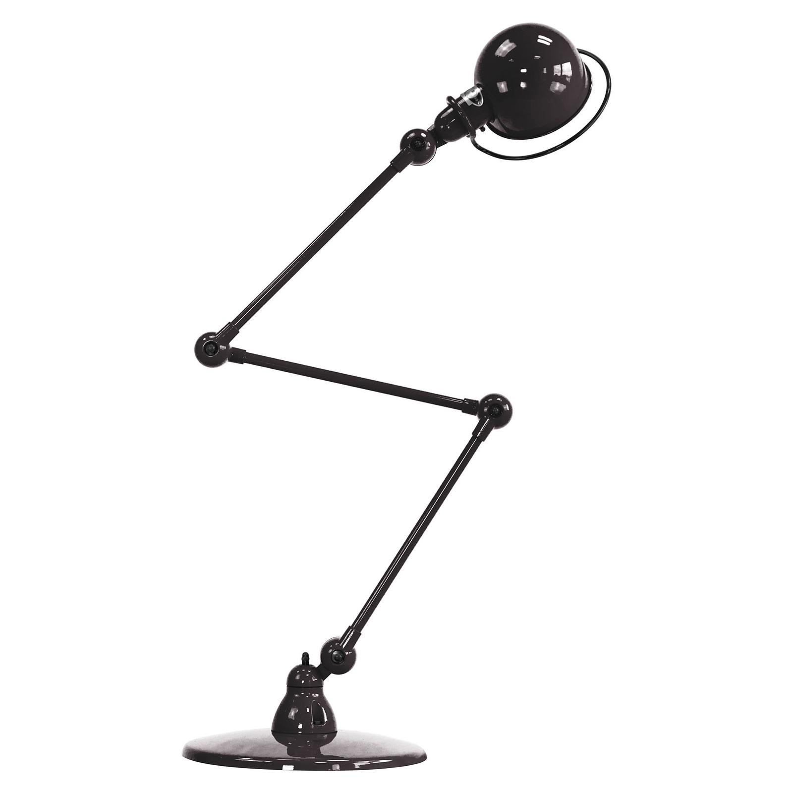 Jieldé Loft D9403 scharnier-vloerlamp, zwart