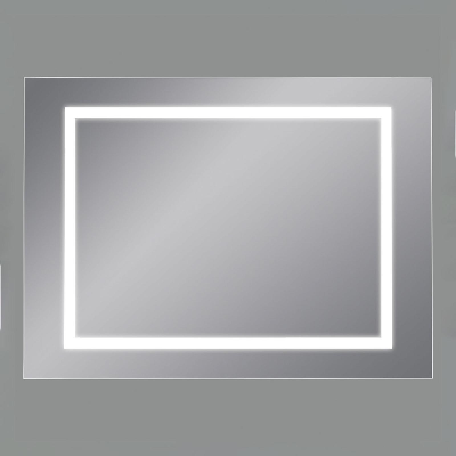 Miroir mural LED Mul, 110x75cm, 4000K