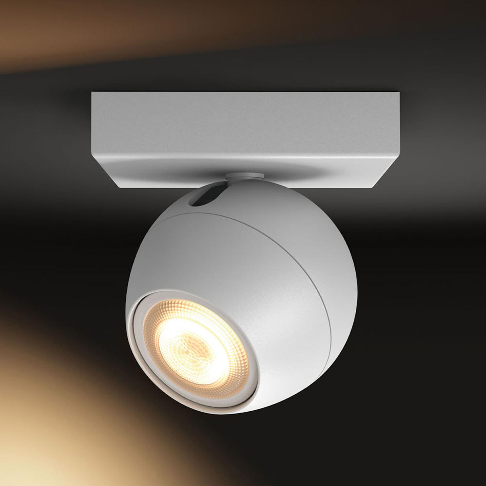 Philips Hue Buckram spot LED blanc extension
