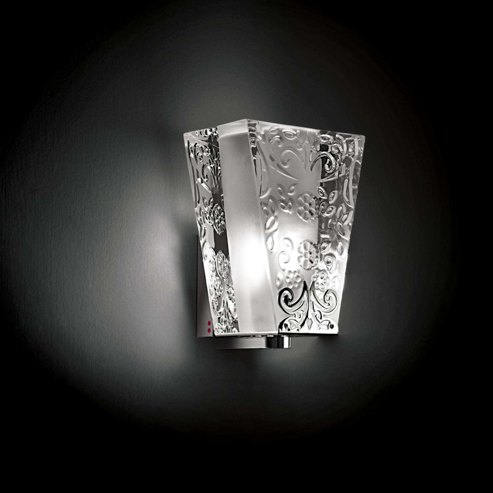 Raffinata applique VICKY a una luce