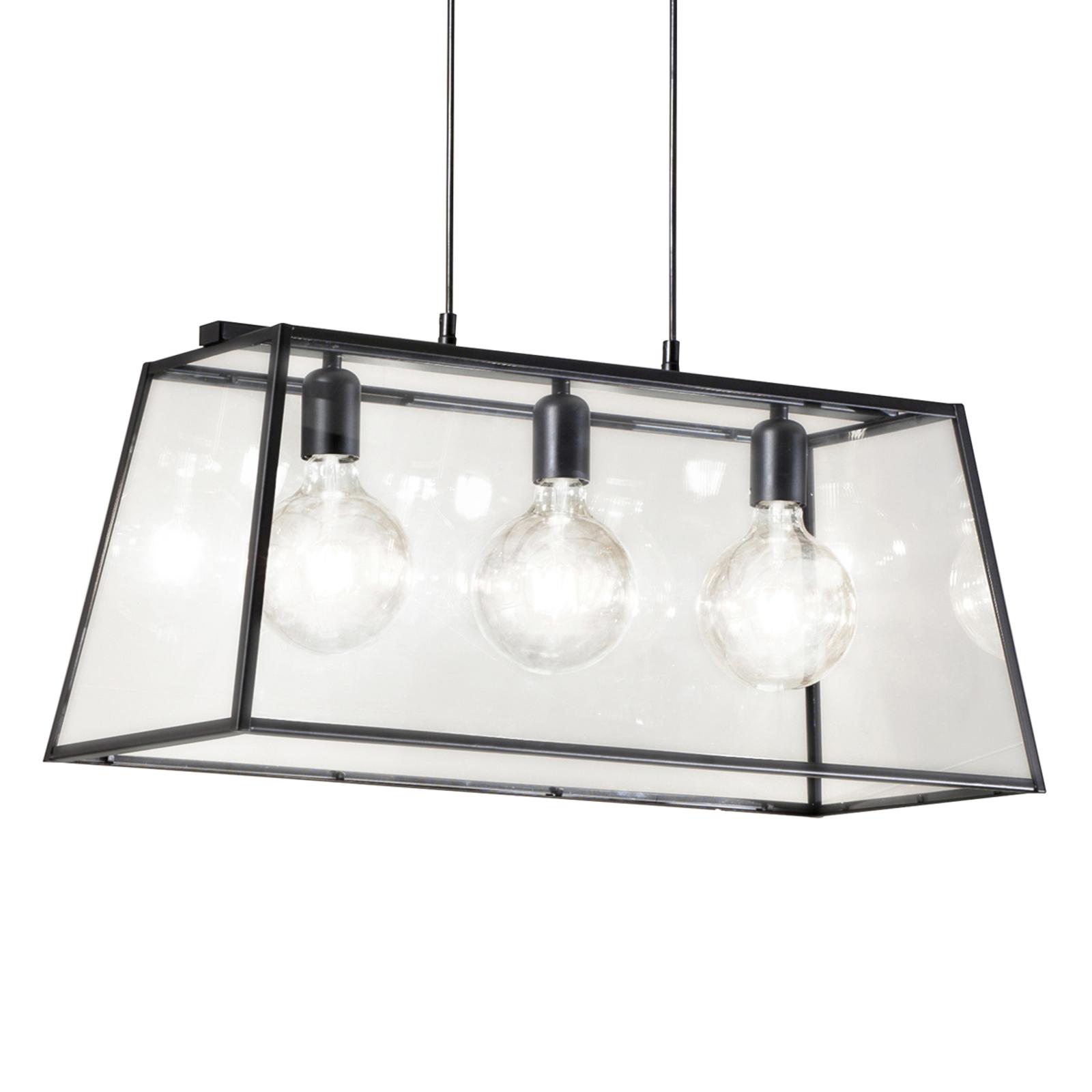 Hanglamp Troja, 70 cm, 3-lamps