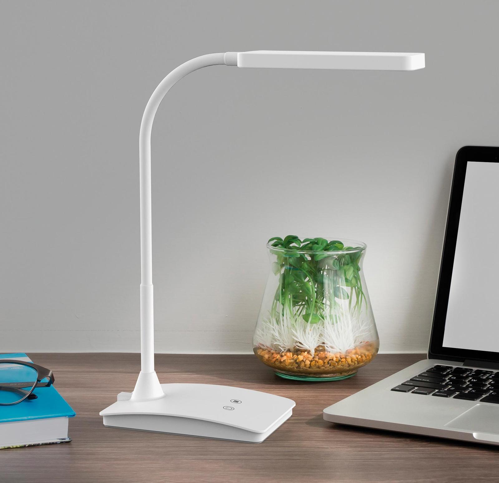 LED bureaulamp MAULpearly colour vario