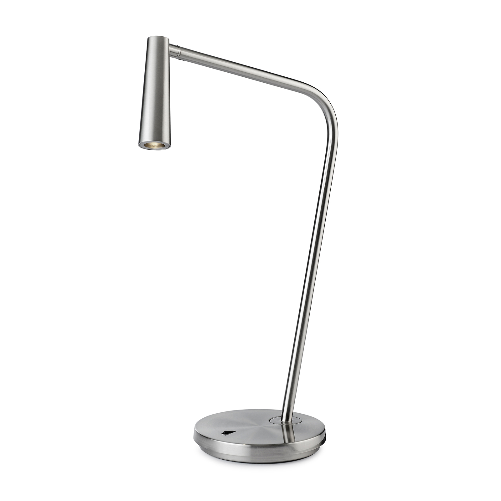 LEDS-C4 Gamma LED-bordlampe satinert nikkel