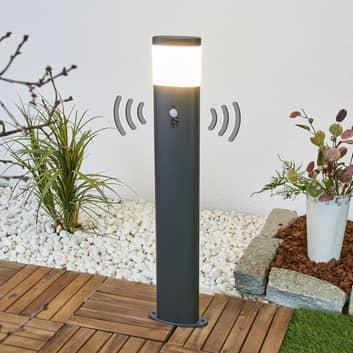 Iluminación LED de senderos Marius, sensor de mov.