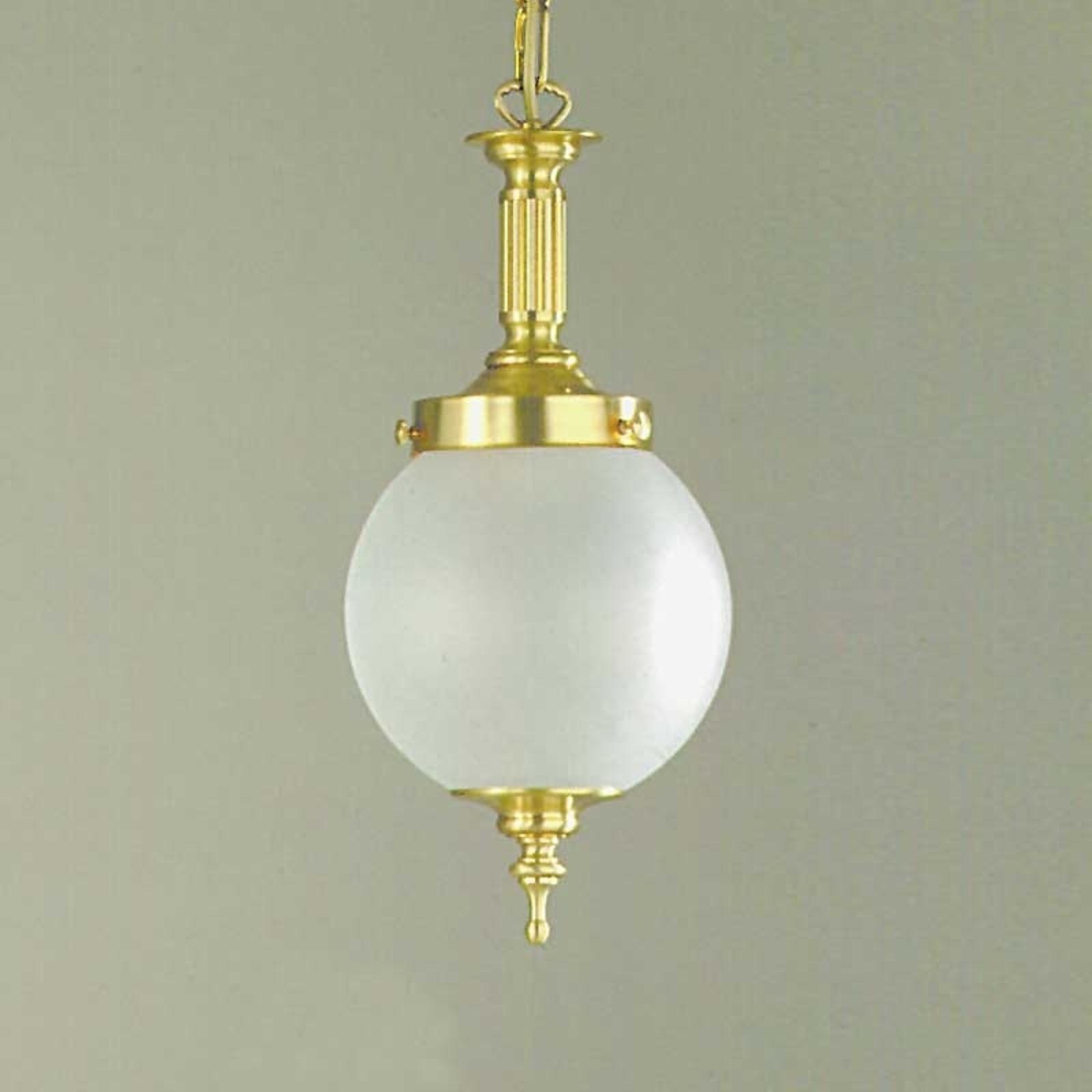 Lampa wisząca OBJEKT, brąz śr. 20 cm