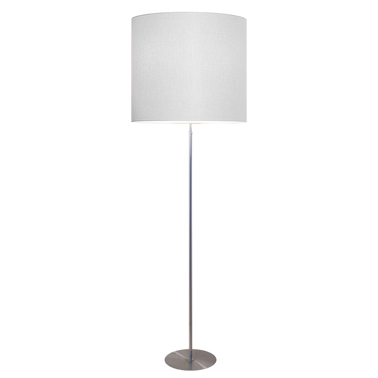 Moderne vloerlamp Tono, wit