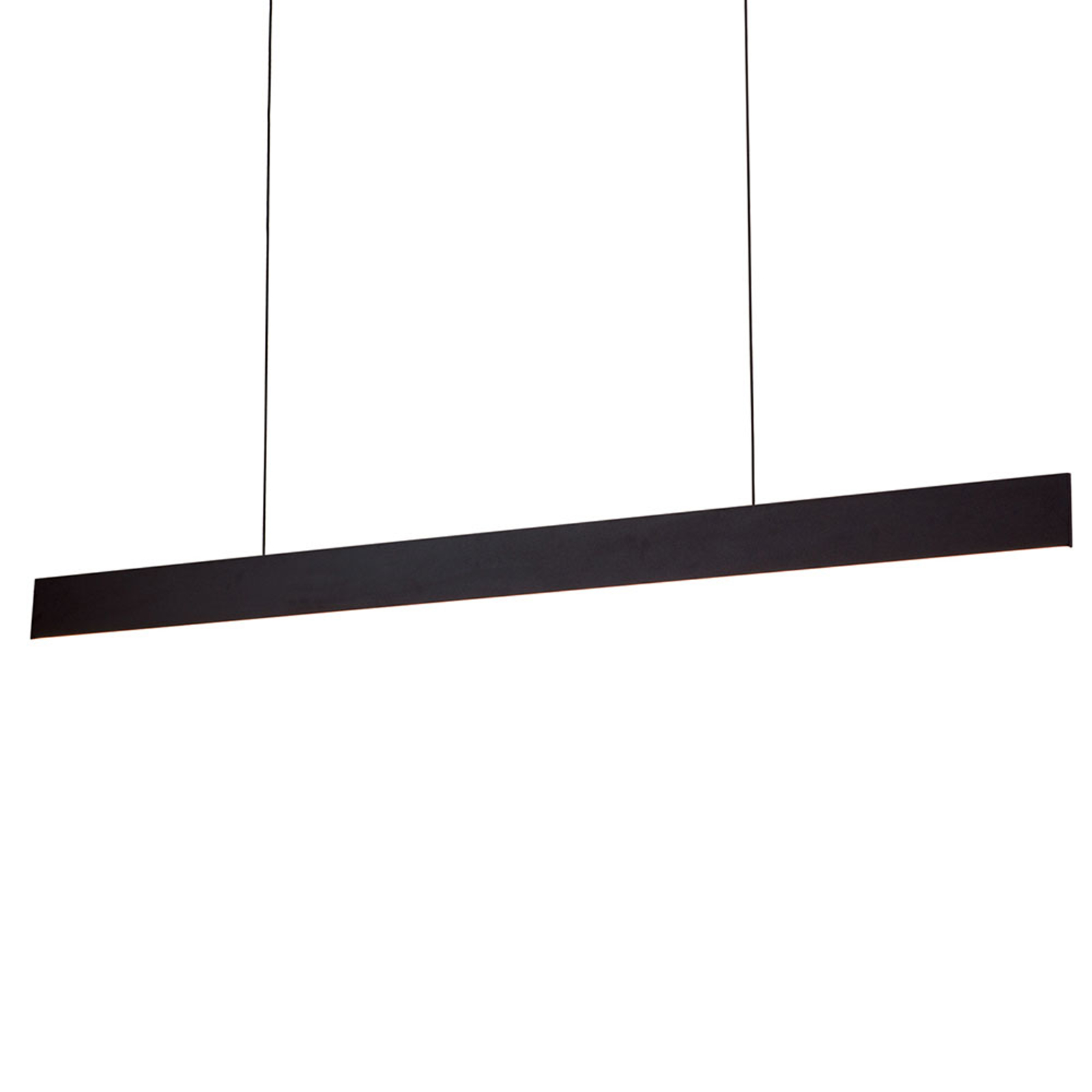 Suspension LED Gideon, up- & downlight, noire