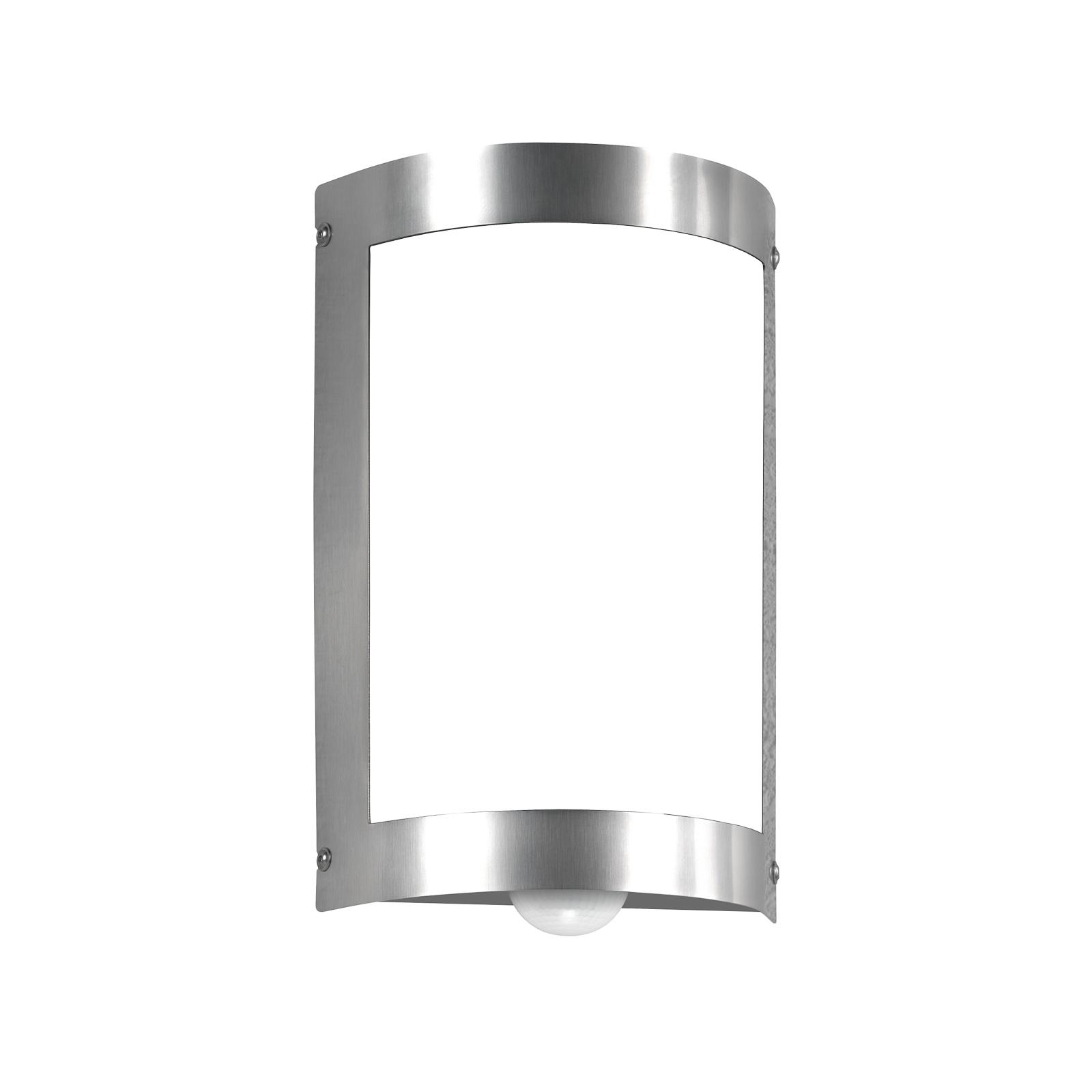 Enkel Marco 3 utendørs vegglampe med sensor