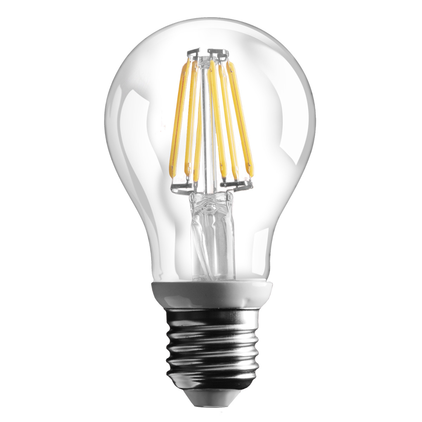 E27 6 W LED-filamenttilamppu 800 lm – lämmin valk.