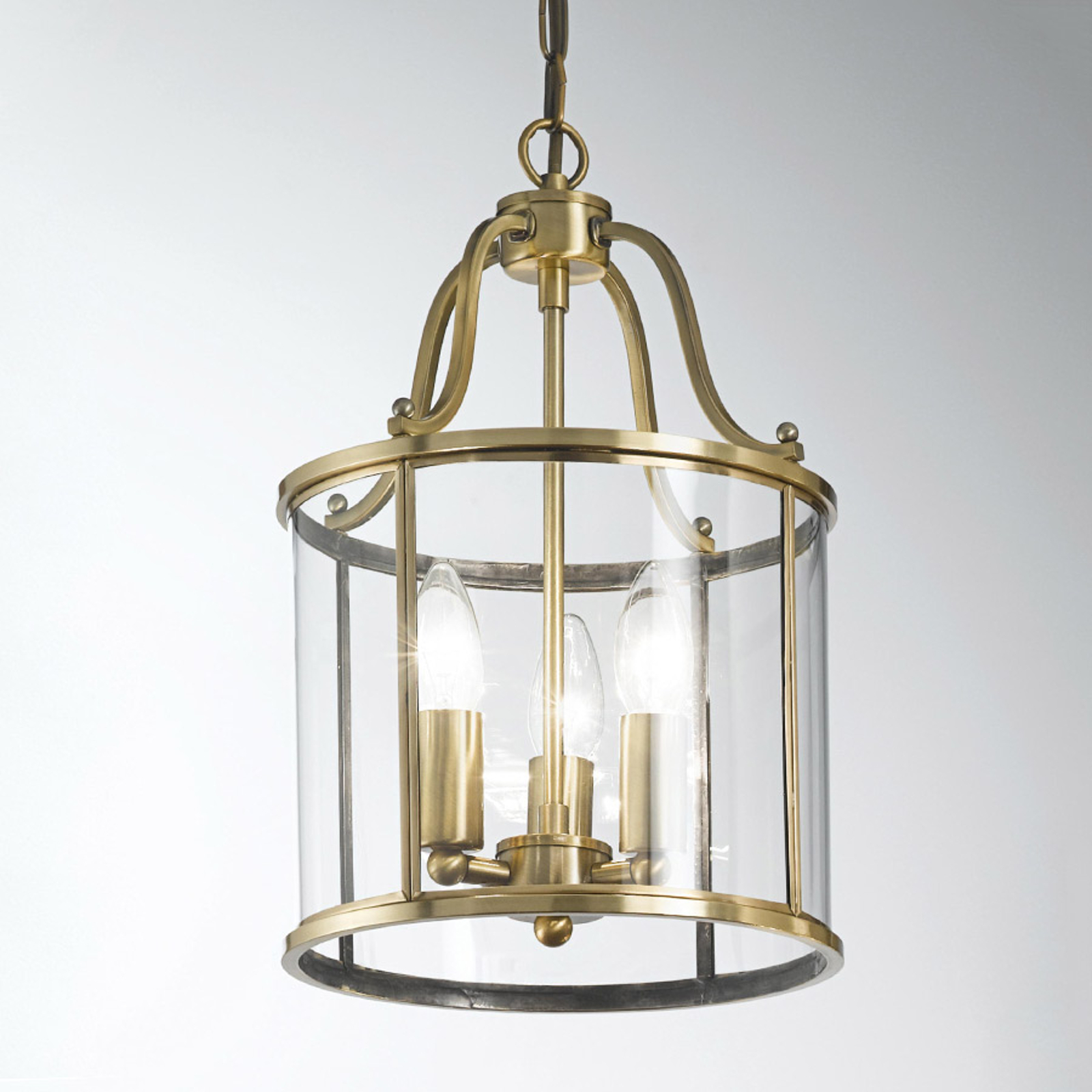 Rieka Hanging Light Lantern Shaped Round 25 Cm Lights Co Uk