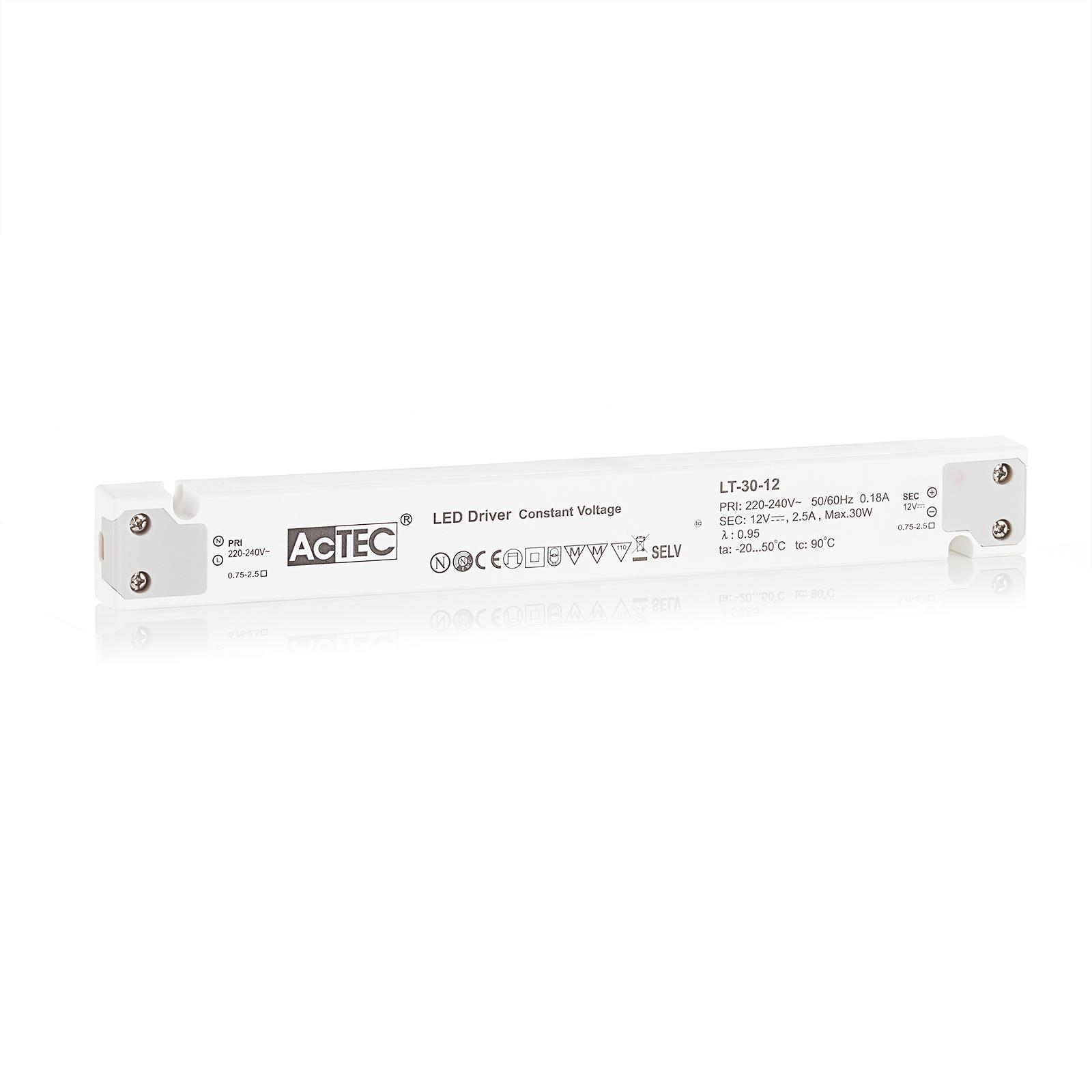 AcTEC LT LED-driver CV 12 V, 30 W