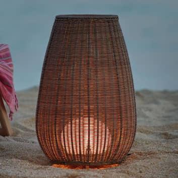 Bover Amphora terassivalaisin, rottinki ruskea