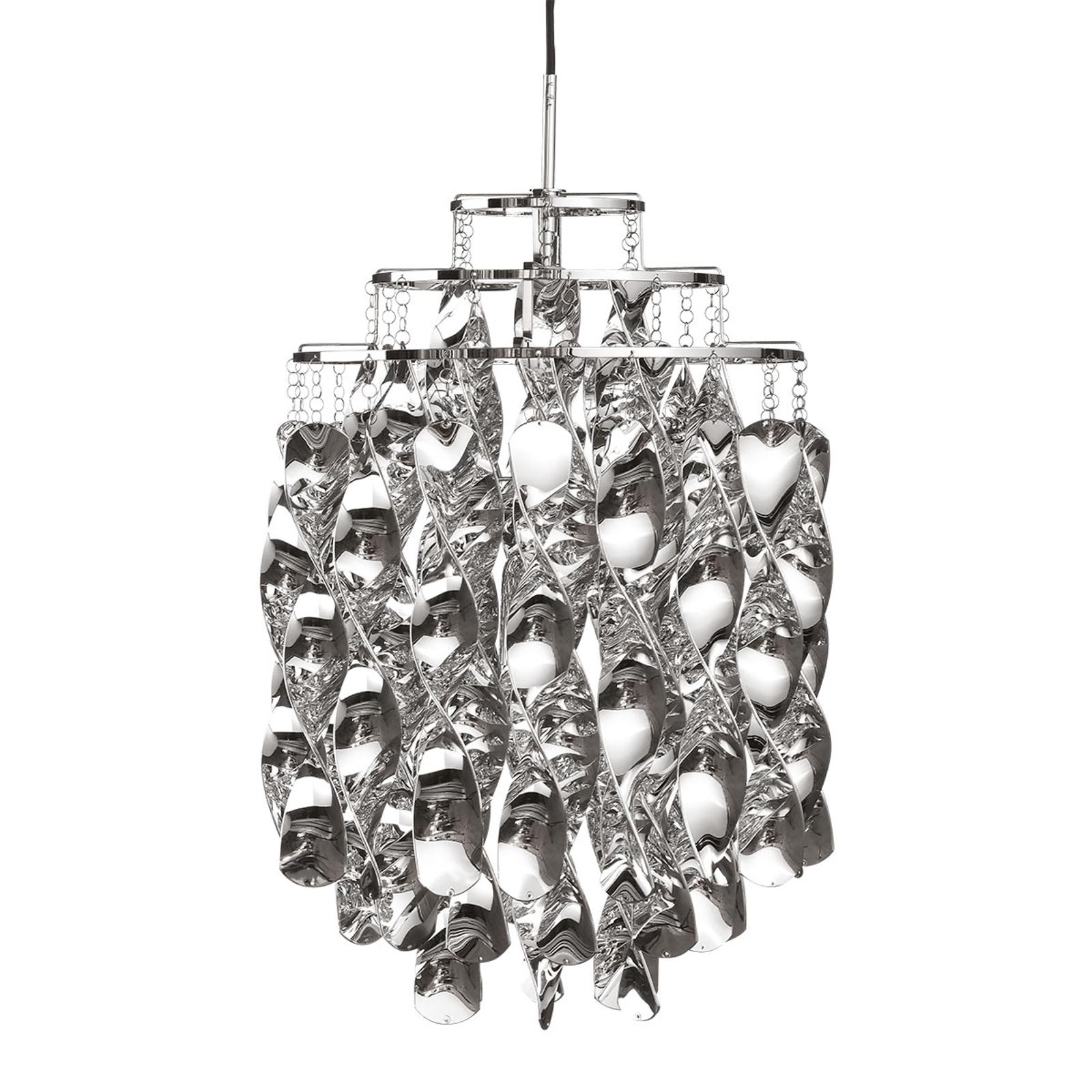 VERPAN Spiral Mini - Hängeleuchte in Silber