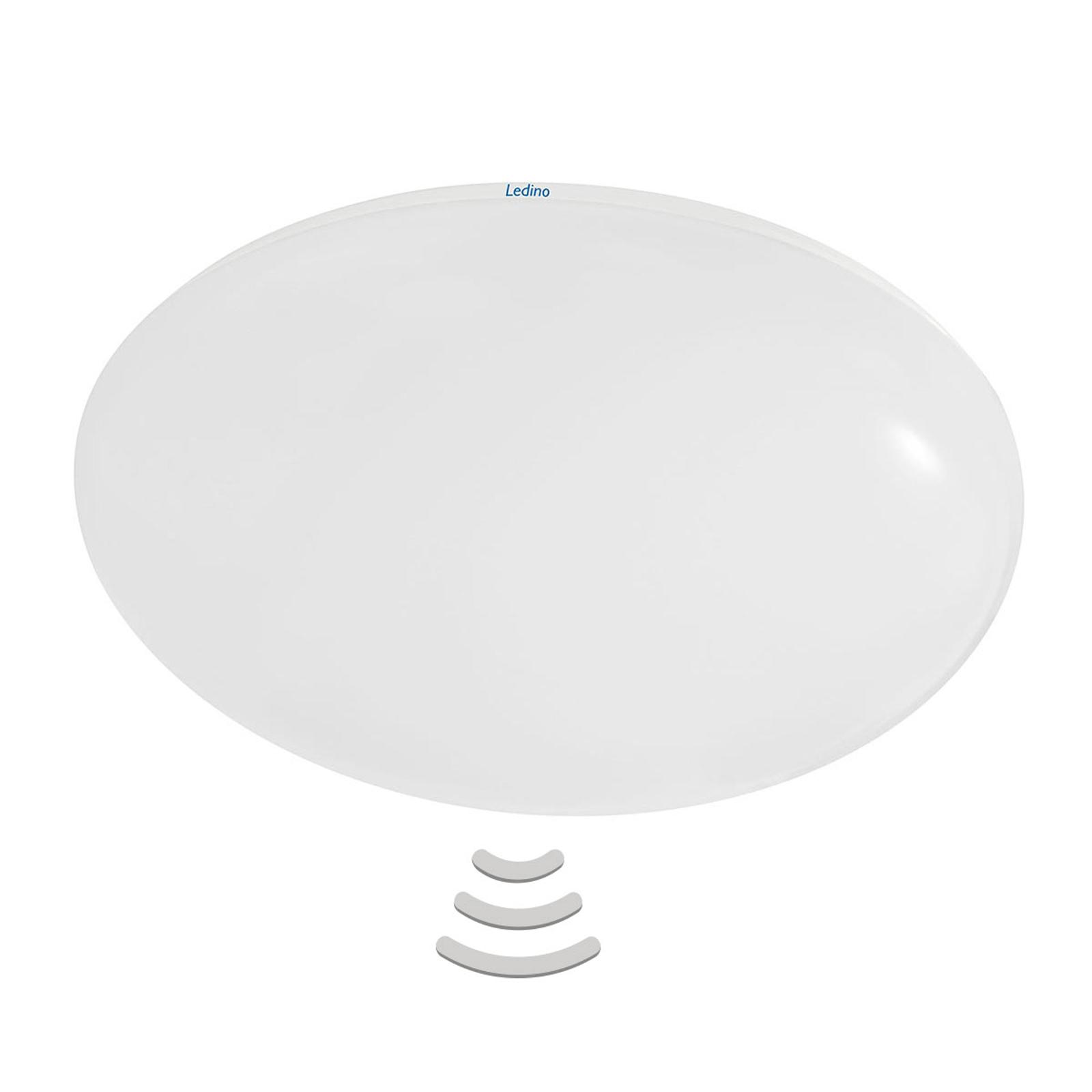 Effektfull LED-taklampe Altona med sensor
