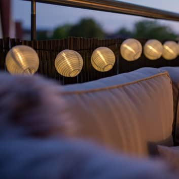 Paulmann Mobile Lampion ljusslinga 7 lampor vit
