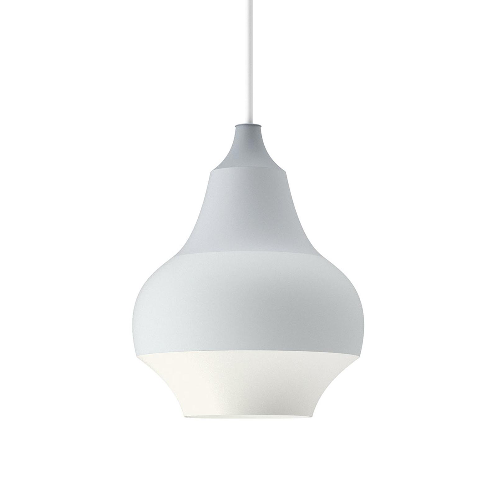 Louis Poulsen Cirque - grijze hanglamp, 15 cm
