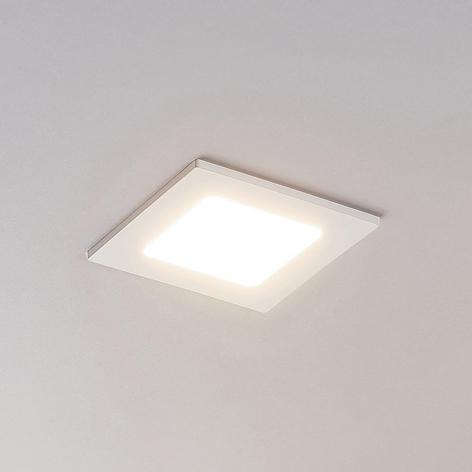 LED-Einbaustrahler Joki weiß 3000K eckig 11,5cm
