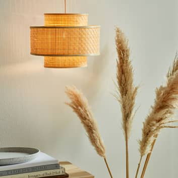 Lampa wisząca Trinidad z bambusa