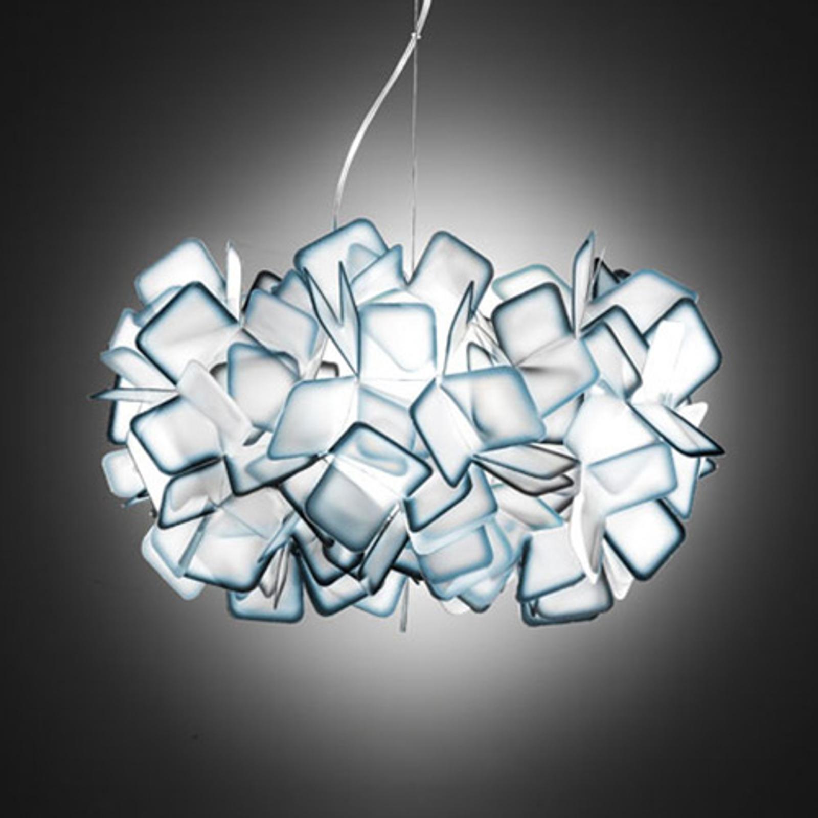 Slamp Clizia - designové závěsné světlo, modré