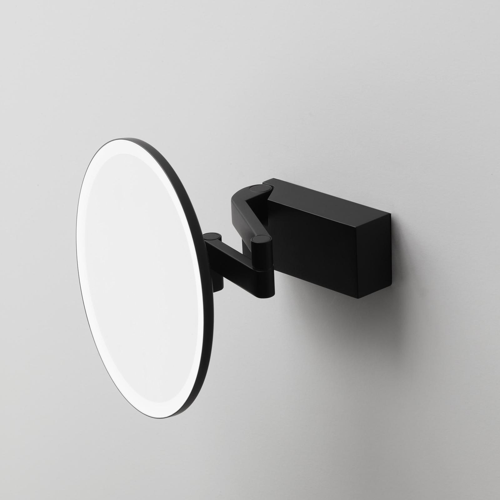 Decor Walther Vision R espejo cosmético LED negro