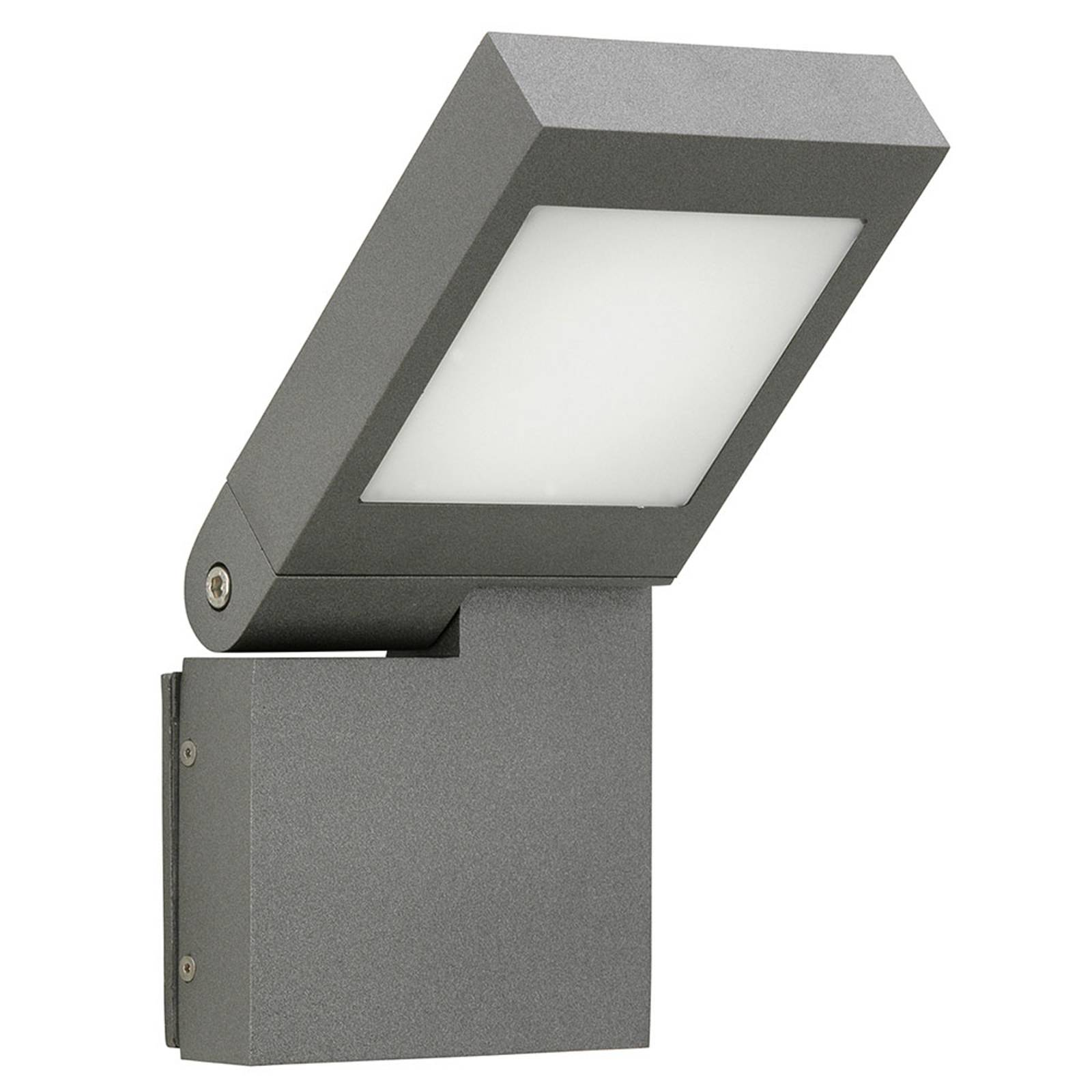 LED-Wandleuchte 0111, Kopf schwenkbar, anthrazit